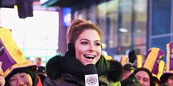 image: Stjerna overrasket hele Times Square: Giftet seg på direkten
