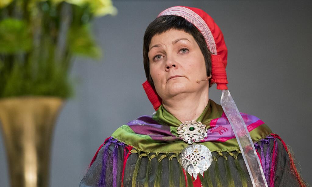 NYTTÅRSTALE: Sametingspresident Aili Keskitalo mener flere Tysfjord-ofre bør stå fram. Foto: Håkon Mosvold Larsen / NTB scanpix