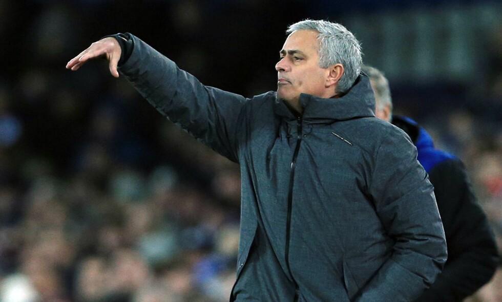 LEI: Jose Mourinho er ikke så begeistret for Paul Scholes. Foto: Matt West/BPI/REX/Shutterstock