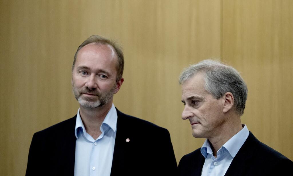 MØTER IKKE: Trond Giske kommer ikke til å stille på det ekstraordinære sentralstyremøtet om ham. Foto: Bjørn Langsem / Dagbladet
