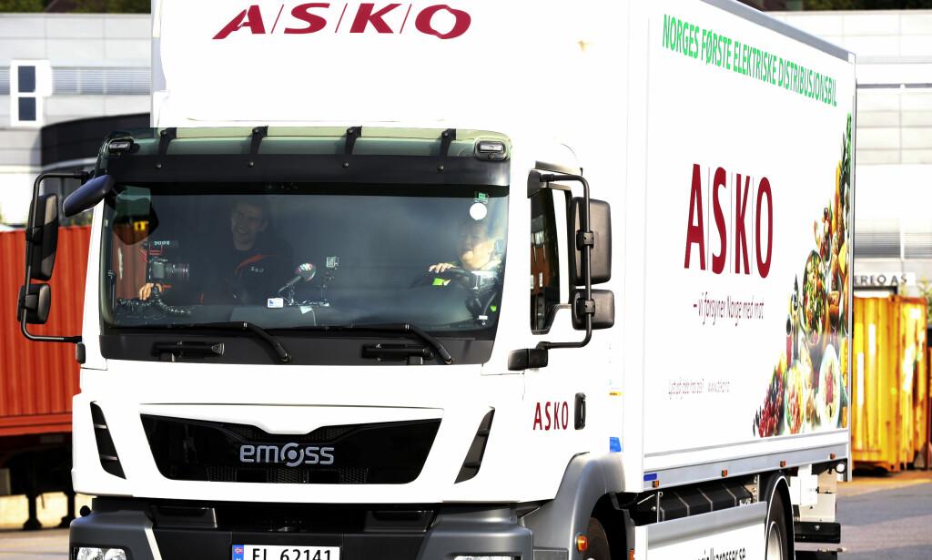 INGEN EKSTRAREGNING - ENNÅ: Planen har vært å innføre sonen denne vinteren for lastebiler som ikke har den mest moderne renseteknologien – Euro 6. Men nå utsettes iverksettelsen til neste vinter. Foto: NTB Scanpix