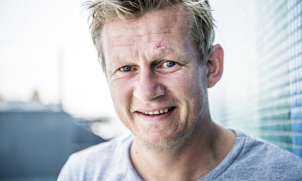 - TRIVES: Steffen Iversen erkjenner at det i starten var tøft å bli singel, men at han nå har det veldig fint. Foto: Thomas Rasmus Skaug / Dagbladet