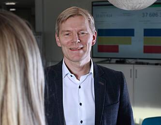 <strong>SAMLE LÅNENE:</strong> Banksjef Robert Berg anbefaler mange å refiansiere lånene sine for å spare penger. Foto: Instabank
