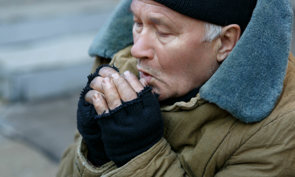 KALDT: Kulda byr på utfordringer, spesielt for eldre med dårlig helse. Foto: Shutterstock/NTB scanpix
