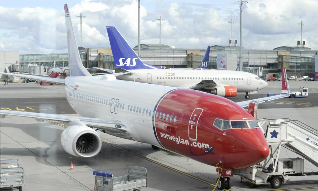 GODE TALL: Sivil luftfart øker for hvert år. Likevel går antall ulykker ned. Foto: NTB Scanpix