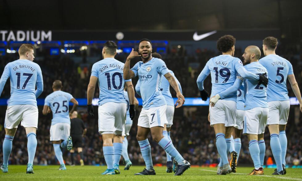 TILBAKE PÅ VINNERSPORET: Manchester City scoret etter bare 32 sekunder. Foto: Jon Super/SilverHub/REX/Shutterstock