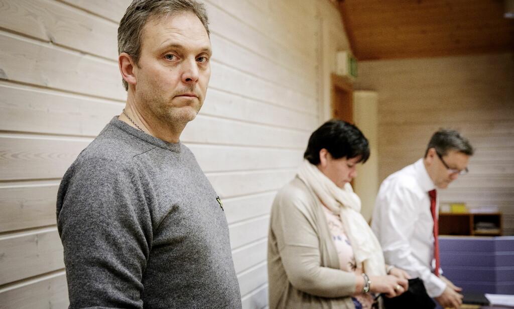 I RETTEN: Brannmester Frode Negård er i retten. Han er sykmeldt som følge av arbeidssituasjonen. Foto: Nina Hansen / Dagbladet