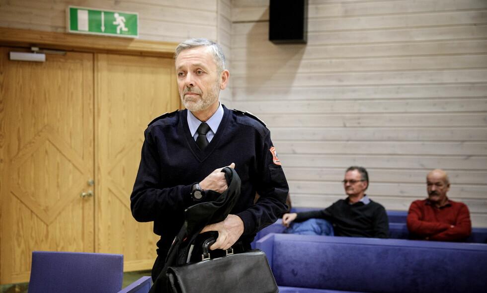 SENTRAL I SAKEN: Brannsjef Nils-Erik Haagenrud i Midt-Hedmark brann- og redningsvesen (MHBR). Foto: Nina Hansen / Dagbladet