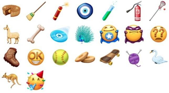 image: Her er de nye emojiene som kommer i 2018