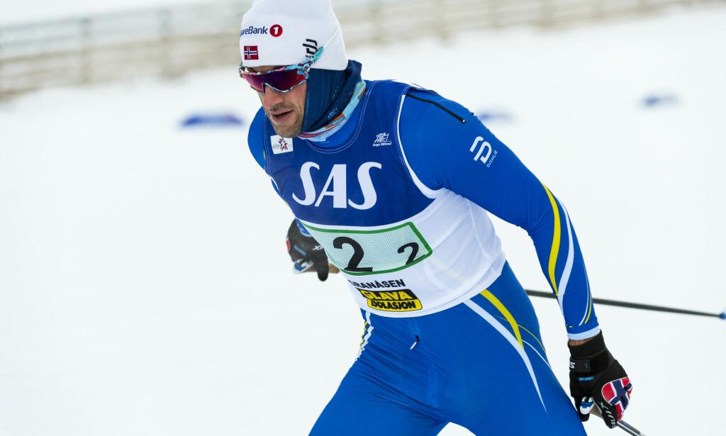 Petter Northug jobber hardt for å sikre seg en plass i Norges OL-tropp. Han er meldt på i mange øvelser de kommende ukene. Foto: Ned Alley / NTB scanpix