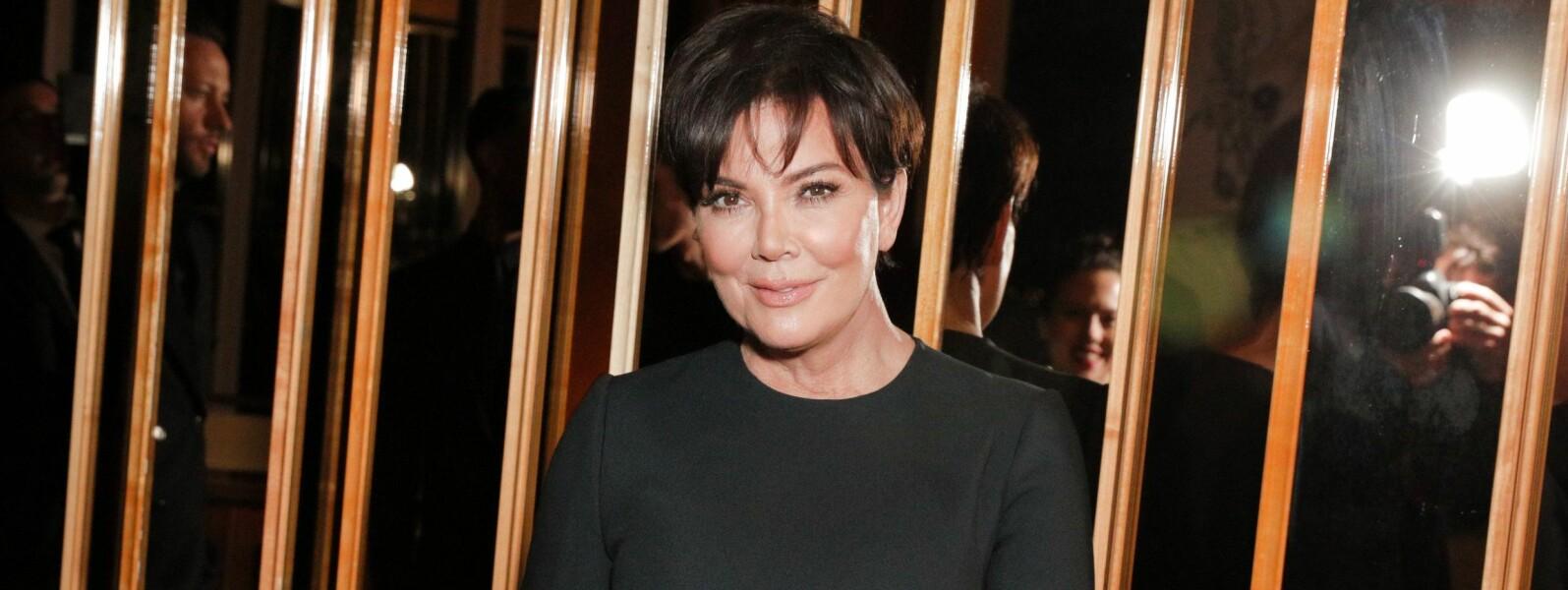 FARGET HÅRET: Har Kris Jenner farget håret, eller er det bare en bløff? FOTO: Scanpix