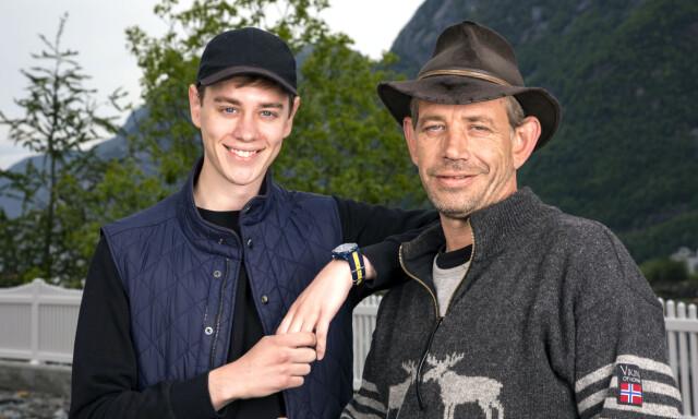 Leif Einar Lothepus Lothe Og Sønnen Stian Kom Nærmere Sønnen I