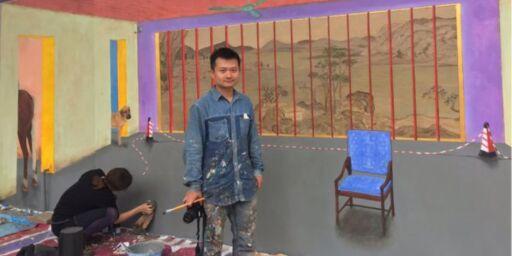 image: Selv ikke kunstnere får snakke om Liu Xiaobo i Kina