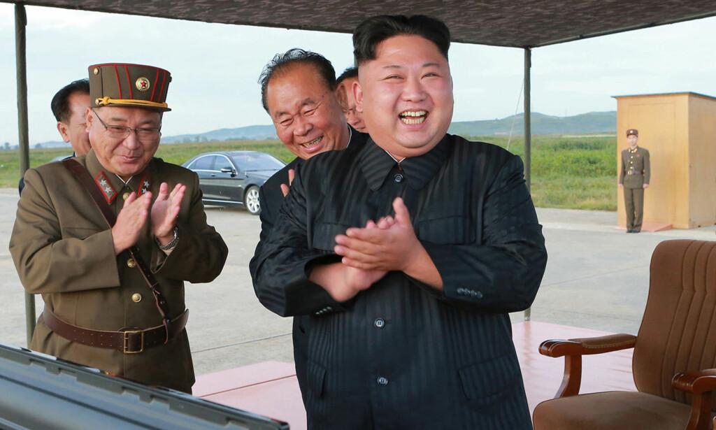 BESKRIVES SOM RASJONELL: Nord-Koreas diktator Kim Jong-un omtales ikke i de aller verste ordelag av ekspert. Foto: NTB Scanpix