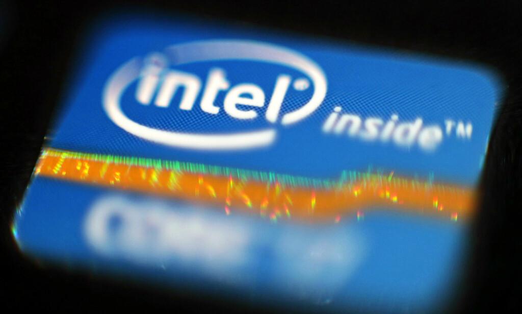 PROSESSOR-FEIL: Sikkerhetshullet som kalles Meltdown kan skape problemer for PC-er og Mac-er med Intel-prosessor. Samtidig er det avdekket et annet sikkerhetshull som rammer de aller fleste mobiltelefoner og AMD-PC-er. Foto: Yui Mok/Pa Photos/NTB scanpix