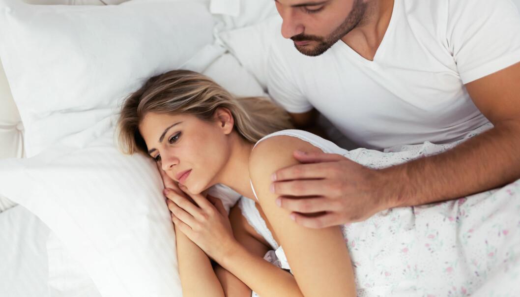 ULIK SEXLYST: I mange parforhold vil sexlysten dabbe av med tiden, hos én eller begge parter. FOTO: Scanpix