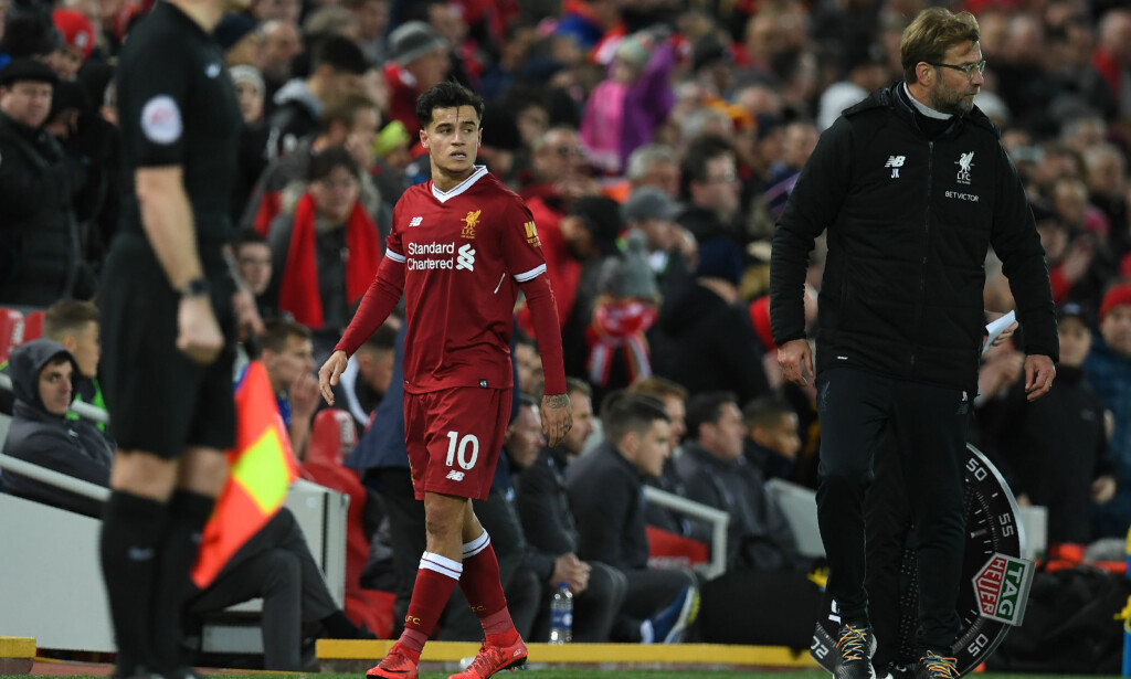 FORSVINNER? Philippe Coutinho kan ha spilt sin siste kamp for Liverpool. Foto: Paul Ellis / AFP PHOTO /