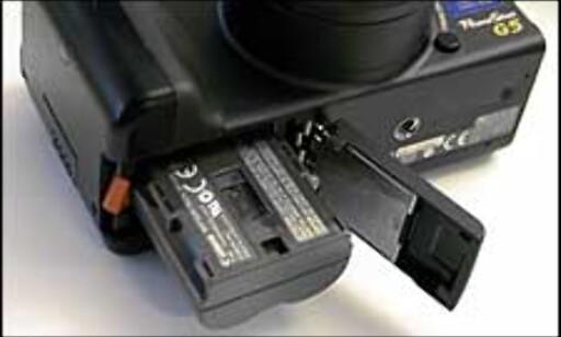 G5 bruker samme kraftig batteri som G3.
