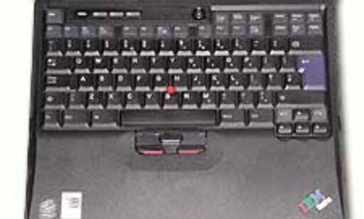 Tastaturet på R31 er blant de beste i testen.