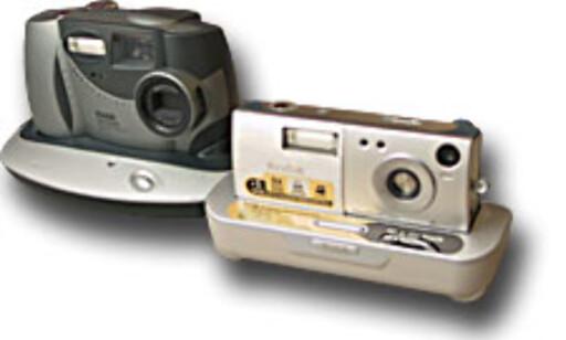 Til venstre den gamle DC3500, til høyre LS420