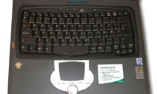 Testens beste tastatur finner du på Acer Travelmate 621XC