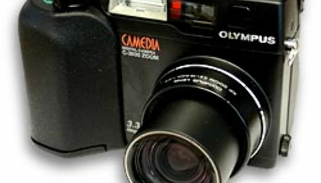 C-3030 har mange fellestrekk med klassiske kompaktkameraer. Foto: Torvald