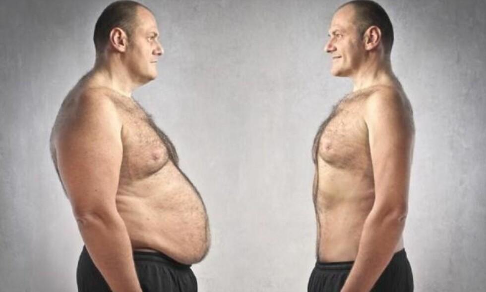 VEKTØKNING: I 20-årene og starten av 30-årene er testosteronnivået på topp – før det sakte men sikkert blir lavere. Foto: T+