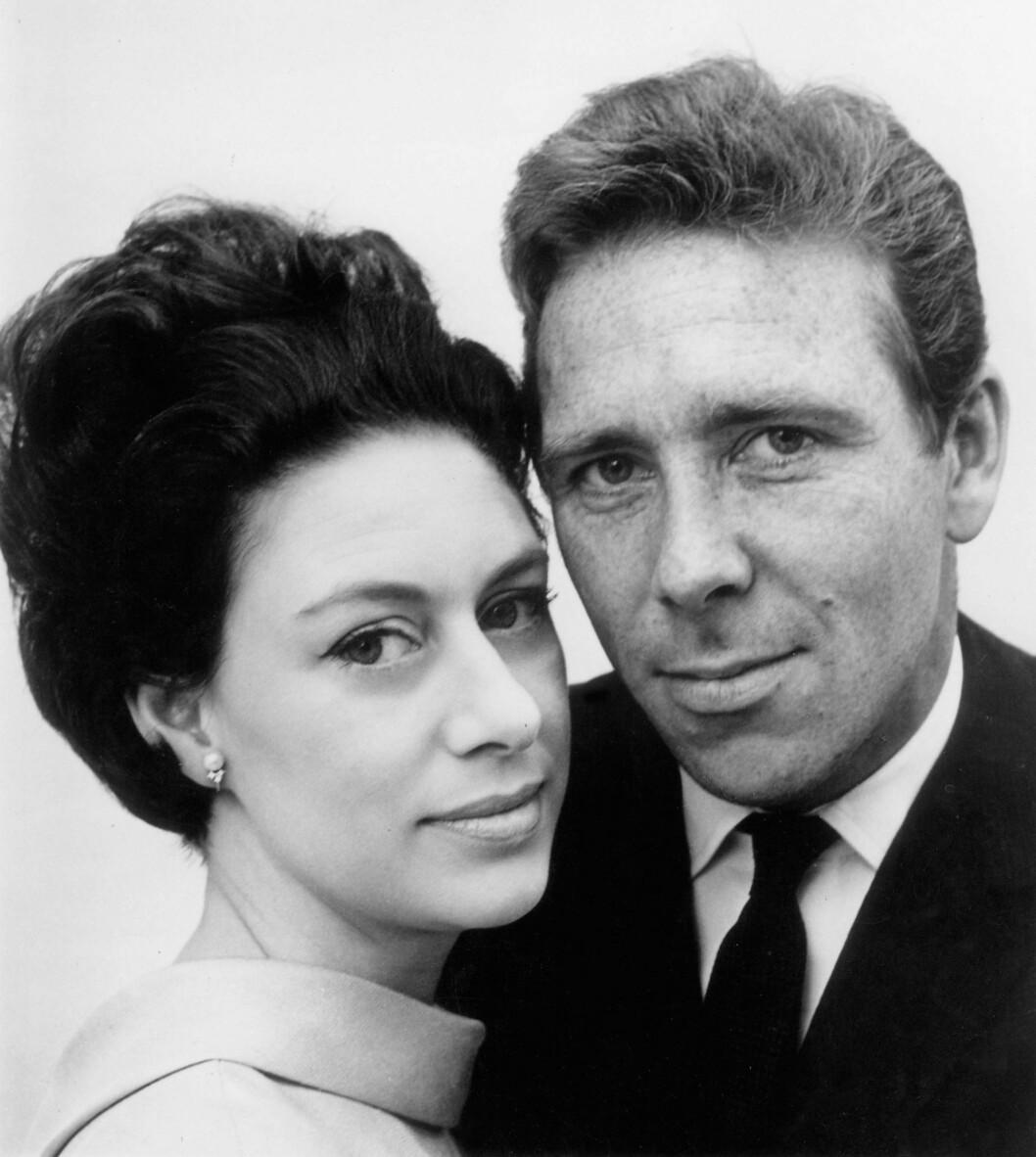 <strong>PENT PAR:</strong> Prinsesse Margaret møtte fotografen Antony Armstrong-Jones under en middag i 1958 - året etter tok han bilder av henne i forbindelse med 29-årsdagen. Foto: NTB Scanpix