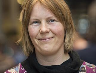 Hanne Guåker er forman i Norsk Kalkunforum og ønsker kalkun skal få et større bruksområde. Foto: Privat