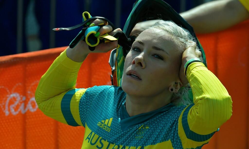 I BILULYKKE: Caroline Buchanan fikk punktert lunge etter en bilulykke ved årsskiftet. Foto: AFP PHOTO / CARL DE SOUZA