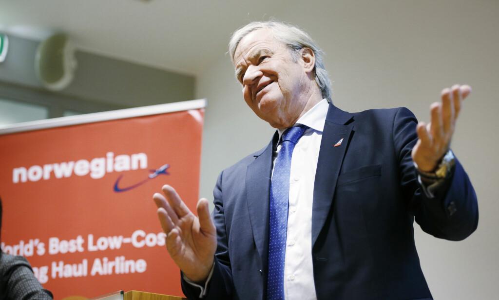 STJELER FRA KONKURRENTEN: - Vi rekrutterer der vi finner de beste pilotene, og det er tett oppunder 200 piloter som har kommet fra Ryanair, sier Bjørn Kjos.