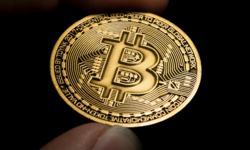SVINDEL: Norske bankkunder har blitt rundlurt for mange millioner i en ny bitcoin-svindel. Illustrasjonsfoto: REX / Shutterstock / NTB Scanpix