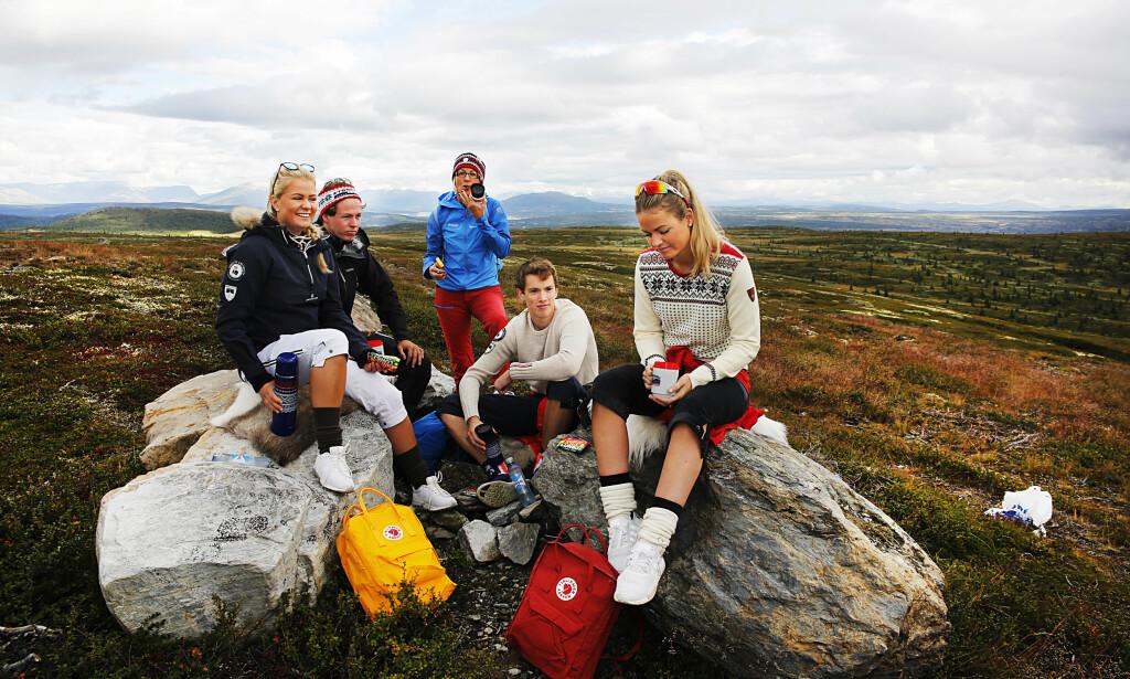 TYPISK NORSK: Svært mange av de utenlandske turistene som besøker Norge, kommer på grunn av naturen. Innovasjon Norge ønsker å intensivere markedsføringen av landet som noe mer enn et natureldorado. Foto: Tormod Brenna