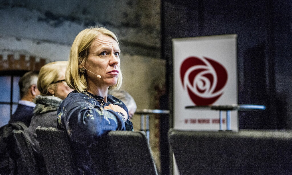 SNAKKER UT: Leder for Arbeiderpartiets kvinnenettverk, Anniken Huitfeldt, forteller at hun har endret syn på hva som er seksuell trakassering i etterkant av #Meetoo-kampanjen.  Foto: Christian Roth Christensen / Dagbladet
