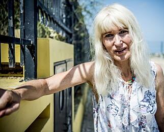 - BLE REDD: Bjørg Eva Jensen oppfattet flere brev fra en beundrer som skremmende. Saken endte hos politiet, forteller hun. Foto Thomas Rasmus Skaug / Dagbladet