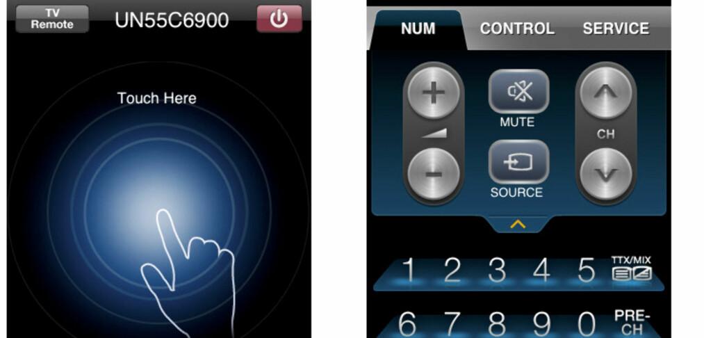 Styr din Samsung-TV med iPhone