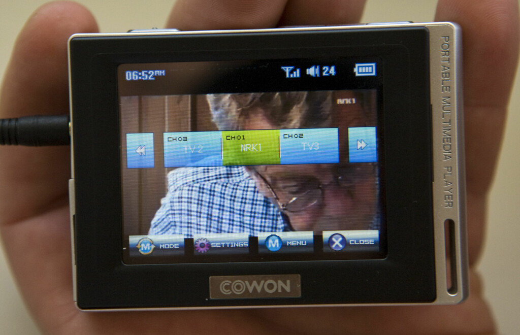 image: TEST: Cowon D2 med Mini-TV