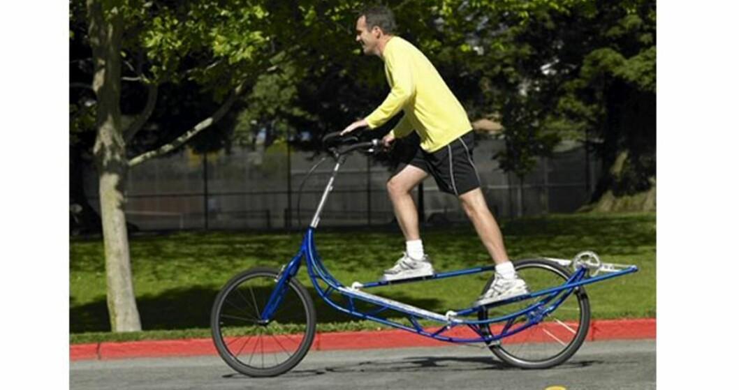 Sprellemann på sykkeltur