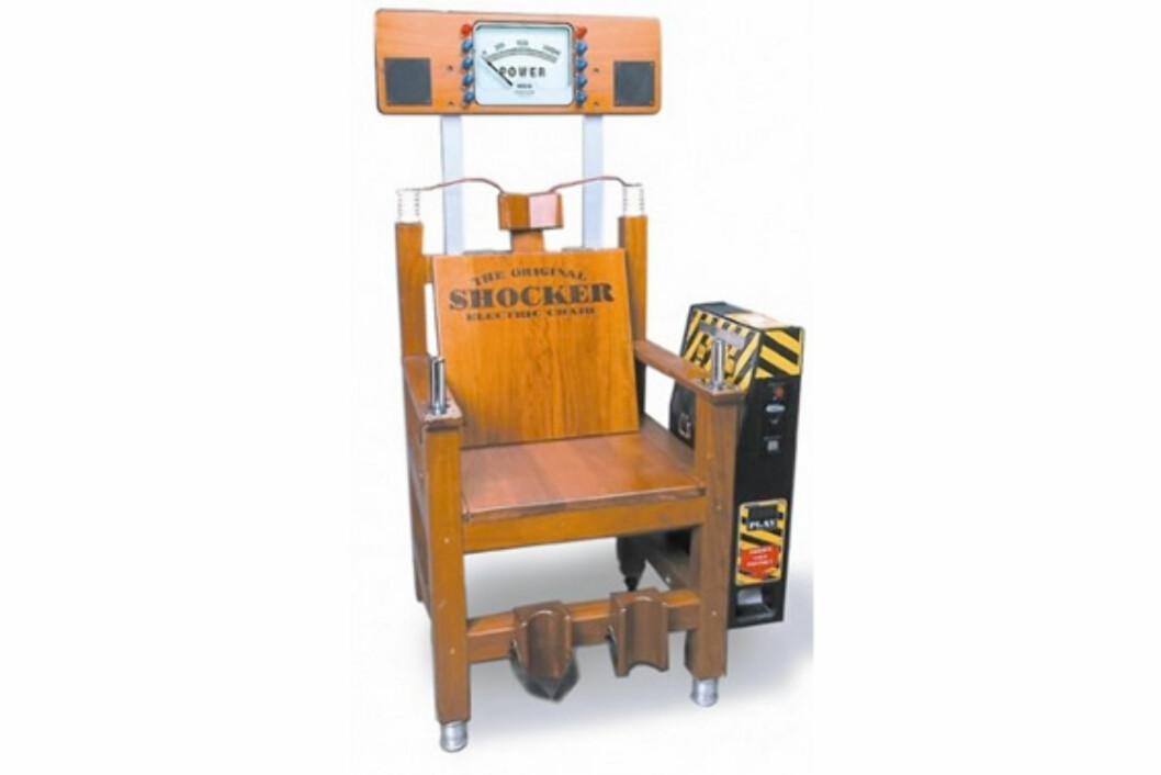 Shocker Chair vil deg vondt