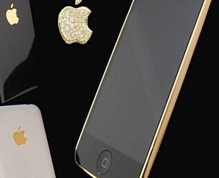 iPhone i gull