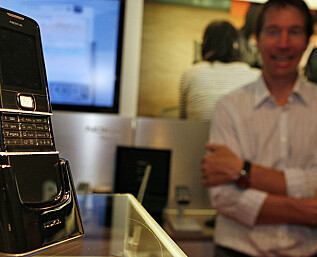 Verdenspremiere: Nokia 8800 Diamond