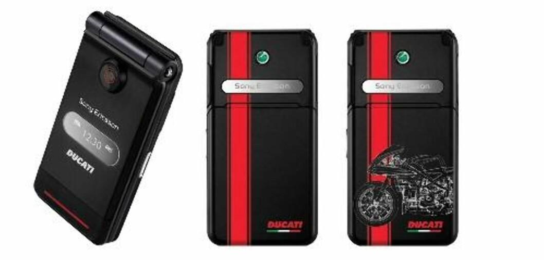 Ducati og Sony Ericsson er sant