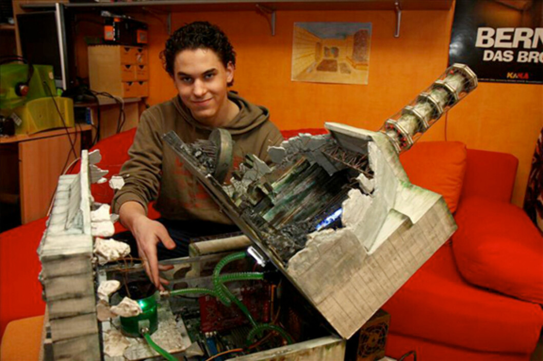 Aktiv 16-åring laget radioaktiv PC