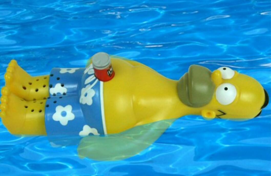 Homer Simpson Floating Radio