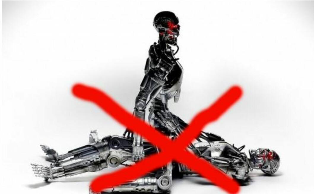 Robotporno med Terminator