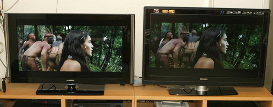 TEST: Philips 42PFL7862D vs. Samsung LE40F86BD