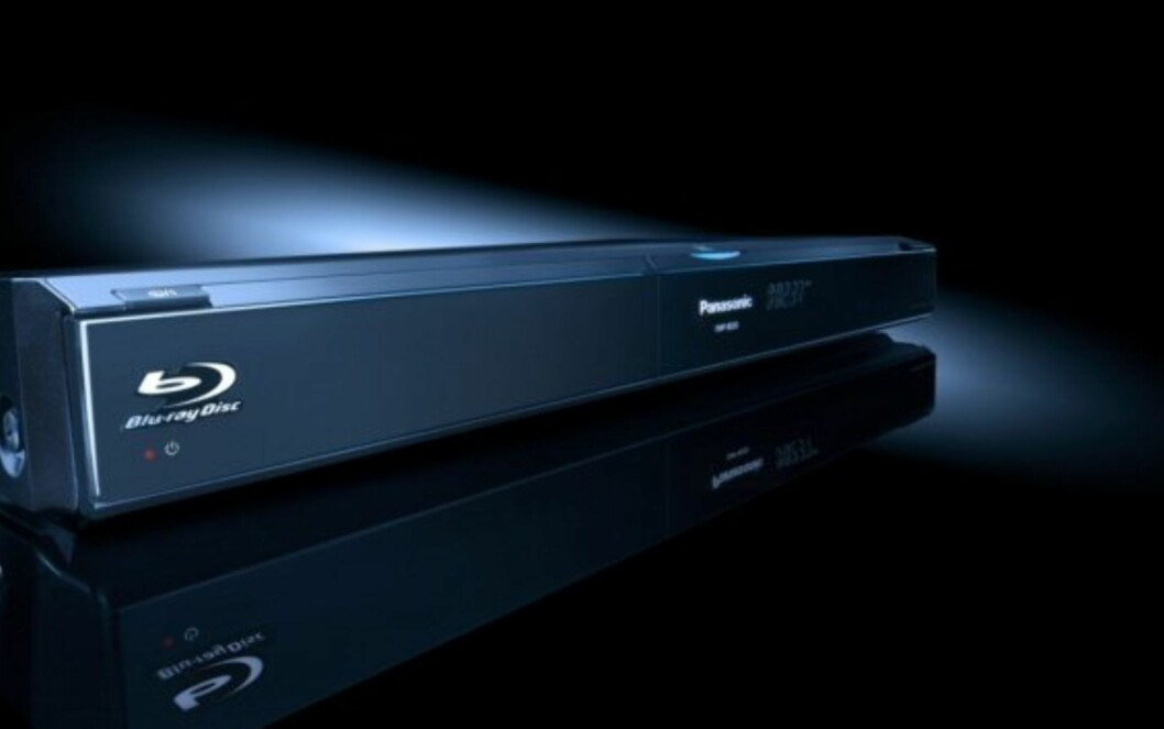 Panasonic BD50 på vei