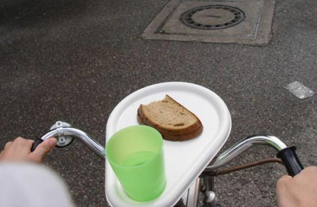 Spis frokost mens du sykler