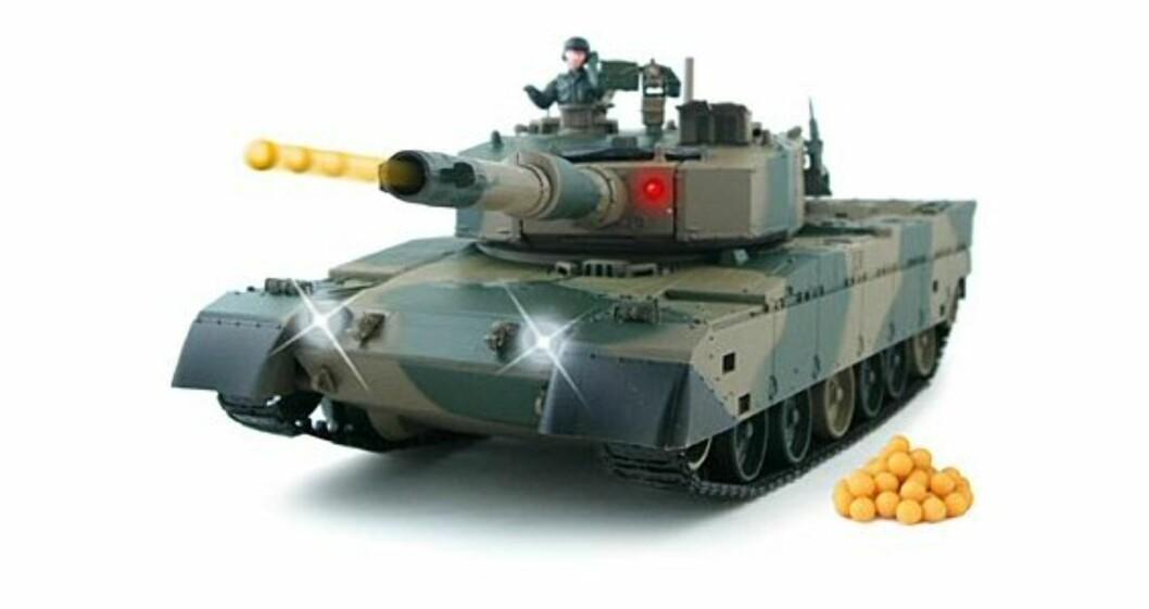 Airsoft Battle Tanks er en minitanks