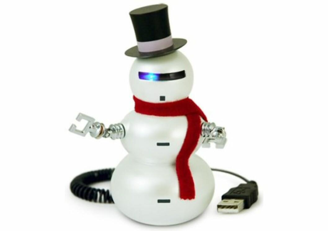 Snowbot er en robotsnømann